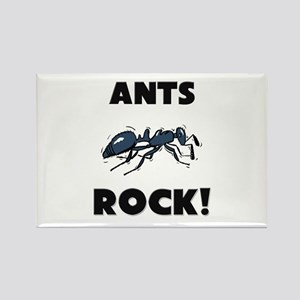 Ants Rock! Rectangle Magnet