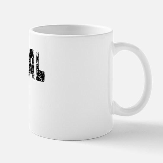 National City Faded (Black) Mug
