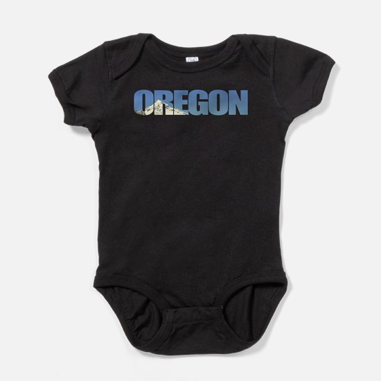 Oregon with Mt. Hood Infant Bodysuit Body Suit
