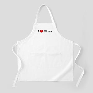 I Love Pizza BBQ Apron