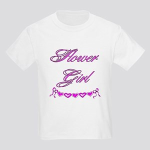Flower Girl Kids Light T-Shirt