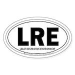 Offical Destination LRE (TM) Oval Sticker