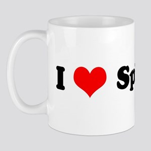 I Love Spinach Mug