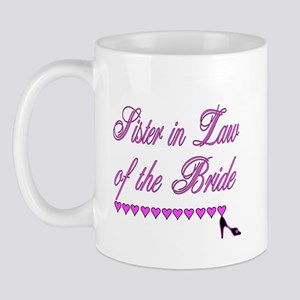 Sister in Law of the Bride Mug
