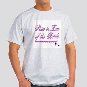 Sister in Law of the Bride Light T-Shirt