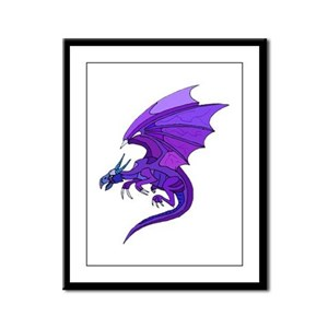 On Magical Wings 5 Framed Panel Print