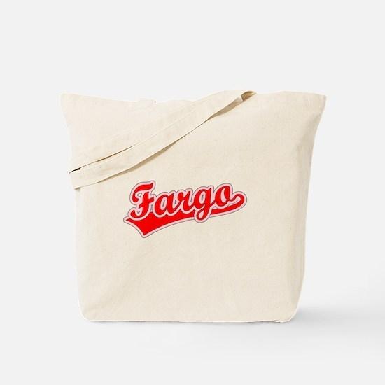 Retro Fargo (Red) Tote Bag