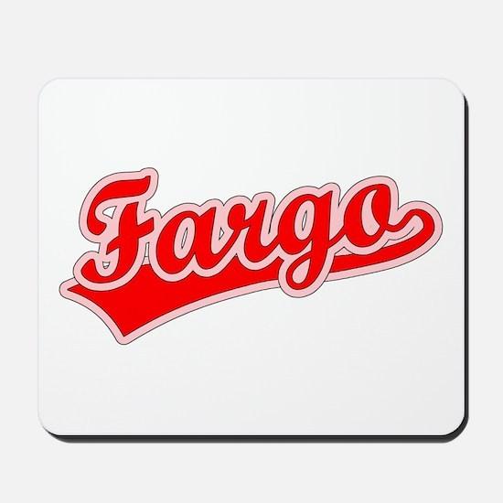Retro Fargo (Red) Mousepad