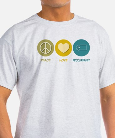 Peace Love Procurement T-Shirt