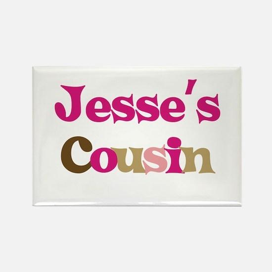 Jesse's Cousin Rectangle Magnet