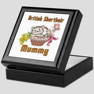British Shorthair Cat Designs Keepsake Box