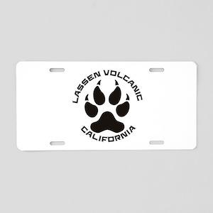 Lassen Volcanic - Californi Aluminum License Plate