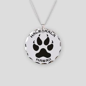 Haleakala - Hawaii Necklace Circle Charm
