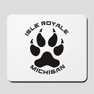 Isle Royale - Michigan Mousepad