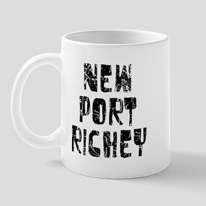 New Port Ric.. Faded (Black) Mug