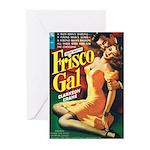 "Greeting (10)-""Frisco Gal"""