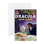 "Greeting (10)-""Dracula"""