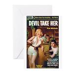 """Greeting (10)-""""Devil Take Her"""""""