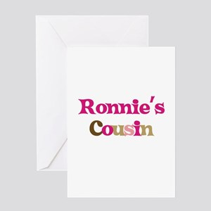 Ronnie's Cousin Greeting Card