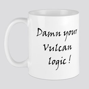 Damn your vulcan logic! Mug