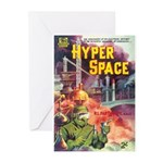 """Greeting (10)-""""Hyper Space"""""""
