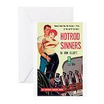"Greeting (10)-""Hotrod Sinners"""