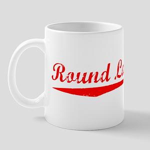 Vintage Round Lake.. (Red) Mug