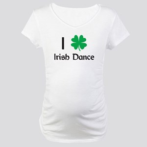 Irish Dance Maternity T-Shirt