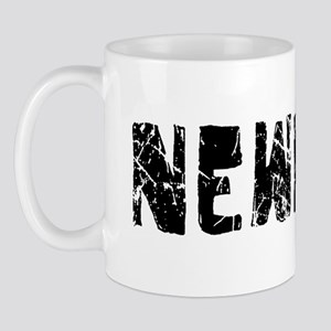 Newport Faded (Black) Mug
