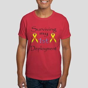 Surviving 1st deployment Dark T-Shirt