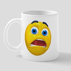 Terrified Face Mug