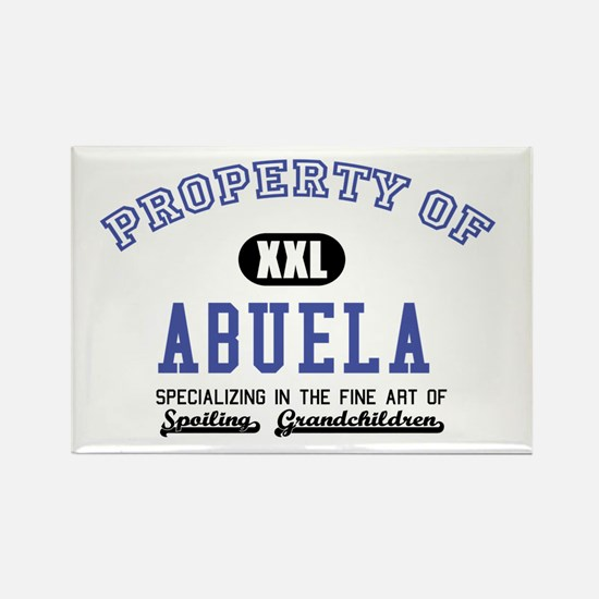 Property of Abuela Rectangle Magnet