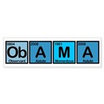 Obama Elements Bumper Sticker (50 pk)