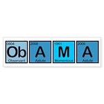 Obama Elements Bumper Sticker (10 pk)