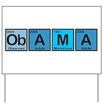 Obama Elements Yard Sign