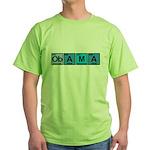Obama Elements Green T-Shirt