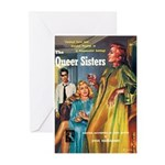 """Greeting (10)-""""The Queer Sisters"""""""