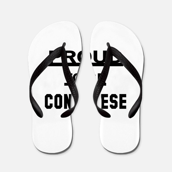 Proud To Be Congolese Flip Flops