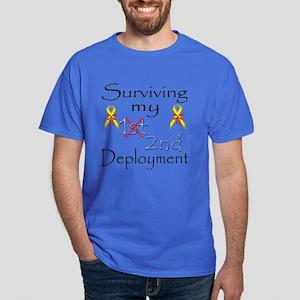 Surviving 2nd deployment Dark T-Shirt