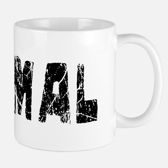 Normal Faded (Black) Mug