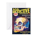 "Greeting (10)-""All Detective Magazine"""