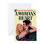 """Greeting (10)-""""A Woman's Heart"""""""