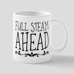 full steam ahead Mugs