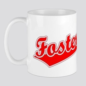 Retro Foster City (Red) Mug