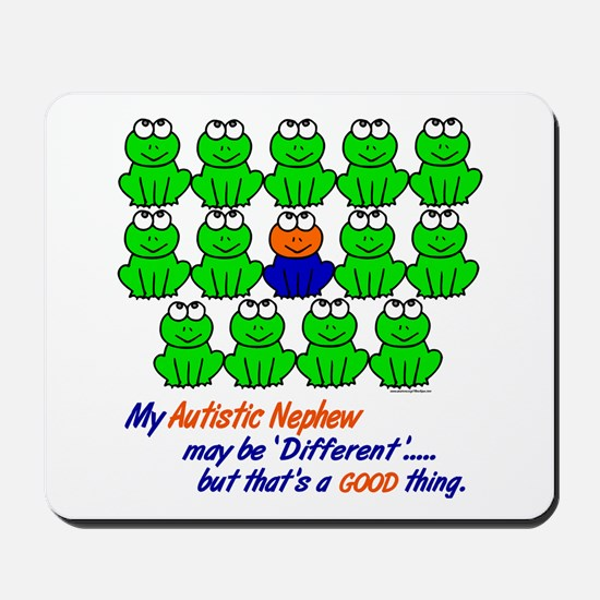Different FROGS 1 (Nephew) Mousepad