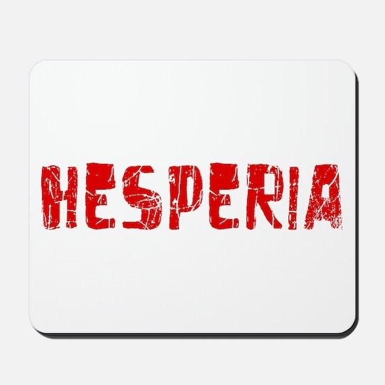 Hesperia Faded (Red) Mousepad