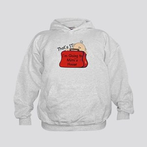Going to Mimi's Funny Kids Hoodie