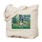 Bridge / Catahoula Leopard Dog Tote Bag