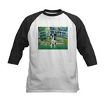 Bridge / Catahoula Leopard Dog Kids Baseball Jerse
