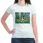 Bridge / Catahoula Leopard Dog Jr. Ringer T-Shirt